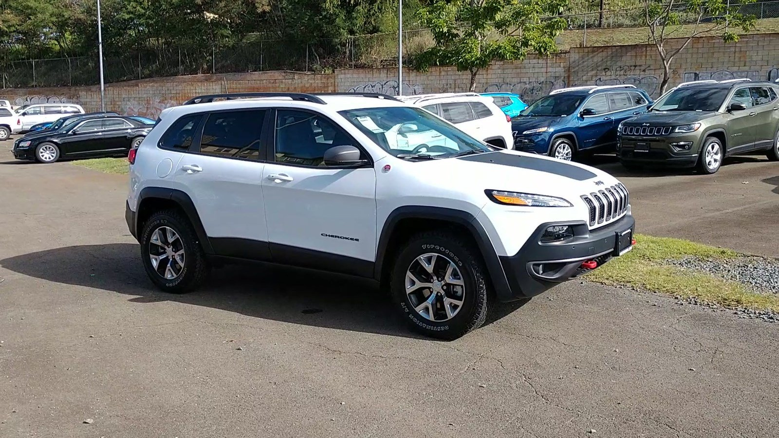 new 2018 jeep cherokee trailhawk sport utility in pearl city