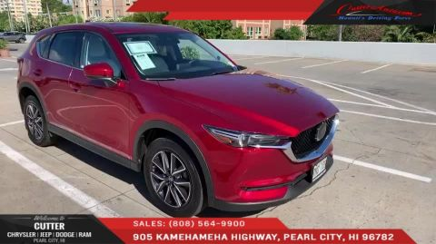 Pre-Owned 2018 Mazda CX-5 Grand Touring With Navigation